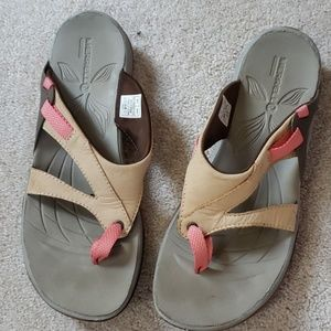 Morrell leather thong sandals